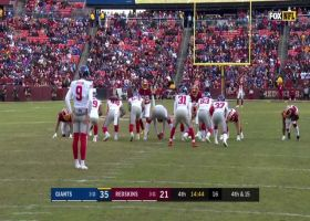Redskins' come up BIG with field-flipping punt block