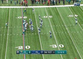 Glennon hits Laviska Shenault  in stride on 18-yard reception