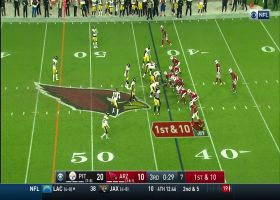 Murray uncorks 31-yard strike to Kirk while ducking under pressure