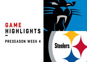 Panthers vs. Steelers highlights | Preseason Week 4