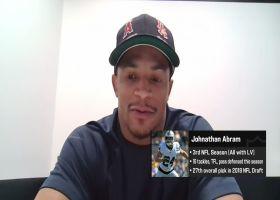 Johnathan Abram talks about the Raiders' 2-0 start