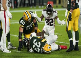 Stop right there: Falcons halt Packers with huge goal-line stand