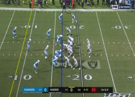 Melvin Ingram beats Raiders' double team for sack