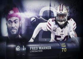 'Top 100 Players of 2021': Fred Warner | No. 21