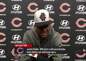 Justin Fields: 'I think I had a good idea' that I would probably start Week 3