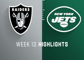 Raiders vs. Jets highlights | Week 13
