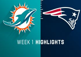 Dolphins vs. Patriots highlights | Week 1