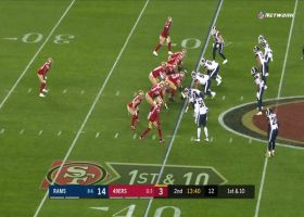 Niners hit Rams with back-to-back screens for 42 yards