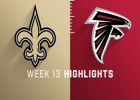 Saints vs. Falcons highlights | Week 13