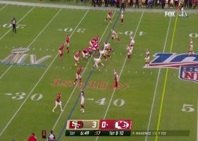 Tyreek Hill shakes off Richard Sherman on shifty catch and run