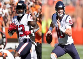 Palmer: One Texans vet WR has been putting in extra work with Davis Mills for a while