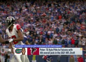 Schrager: Why Kyle Pitts is the 'perfect fit' for Falcons at No. 4 overall