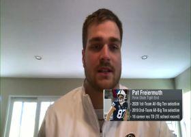 Pat Freiermuth: I 'definitely feel like I'm forgotten' among 2021 draft prospects