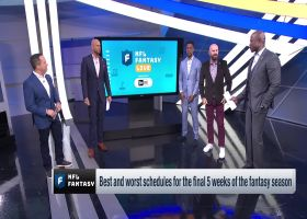 Players with the best remaining schedules | 'NFL Fantasy Live'