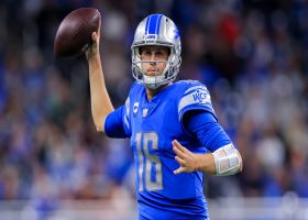 Warner: Lions not scheming to Jared Goff's strengths right now