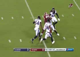 J.P. Holtz rumbles his way to 24-yard catch and run