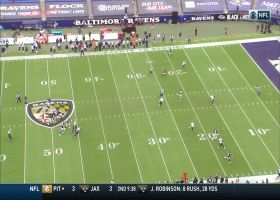 Mark Andrews hauls in Lamar Jackson's perfect pass in traffic for 30 yards