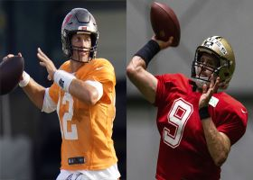 Brees vs. Brady: Who will have more pass TDs in Week 1