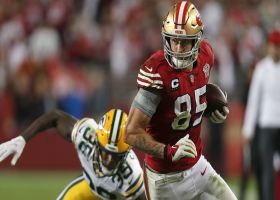 Clutch Kittle! Jimmy G's third-down throw finds TE for HUGE 39-yard catch and run