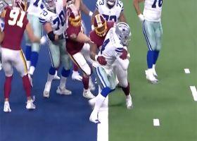 Daron Payne's sack nearly gives Redskins a safety