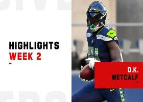 Every D.K. Metcalf catch from showdown vs. Stephon Gilmore | Week 2