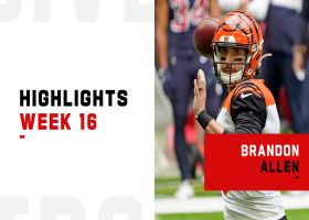 Brandon Allen's most impressive throws vs. HOU | Week 16