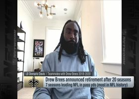 Demario Davis compares Drew Brees' impact to LeBron James'