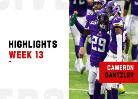 Cameron Dantzler's best plays from 2-turnover game | Week 13