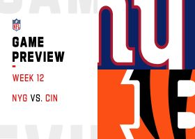 Giants vs. Bengals preview | Week 12