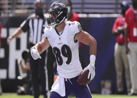 Mark Andrews makes spectacular one-hand grab for Ravens' first TD