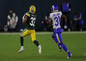 Aaron Jones bursts for 60 YARDS on first carry of second half