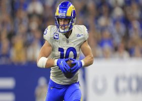 Cooper Kupp is left all alone for big 44-yard pickup