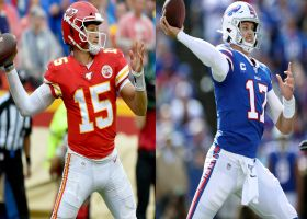 Mahomes challenges Josh Allen to distance throwing competition