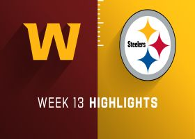 Washington vs. Steelers highlights | Week 13