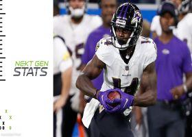 Numbers behind Ravens' game-winning drive in Week 3 | Next Gen Stats