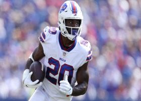 Garafolo: Zack Moss expected to be more involved in Week 2 after not playing in opener