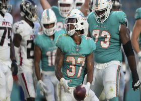 Myles Gaskin caps Fins' opening drive with physical TD run