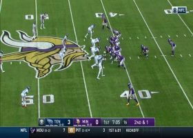 Evans scoops up Dalvin Cook fumble for huge defensive play