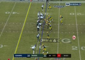 Jimmy Graham stares down Seahawks' sideline after big third-down grab