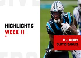 Best plays from D.J. Moore, Curtis Samuel vs. the Lions | Week 11