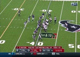 Derek Wolfe plants Watson as Ravens D collapses pocket