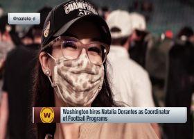 Washington hires Natalia Dorantes as Coordinator of Football Programs