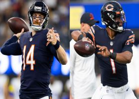 Cris Carter weighs in on how Bears should handle QB situation between Dalton, Fields