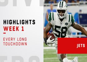 Every long Jets touchdown vs. Lions | Week 1