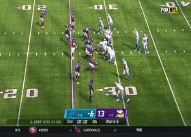 Eric Kendricks makes wild one-handed INT on Jared Goff for 22 yards