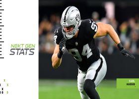 Raiders' top 5 plays through first 2 weeks | Next Gen Stats