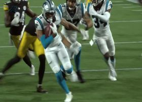 Steelers' muffed punt sets Panthers up at their 18-yard line