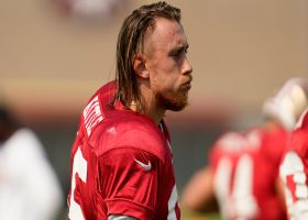 Yam: George Kittle placed on IR with a calf injury