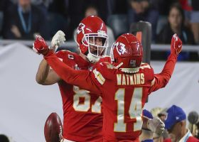 Palmer: Kelce 'happy' Watkins opened up in B/R interview
