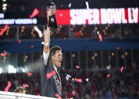 Baldinger: Brady playing through torn MCL raises him to 'GOAT-plus' status